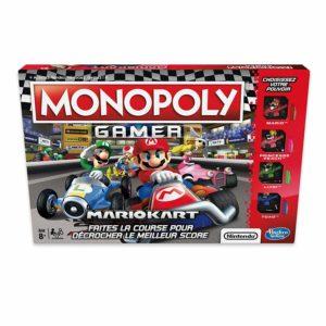 La boite du jeu Monopoly Mariokart