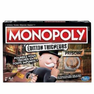 Boite du jeu Monopoly tricheurs