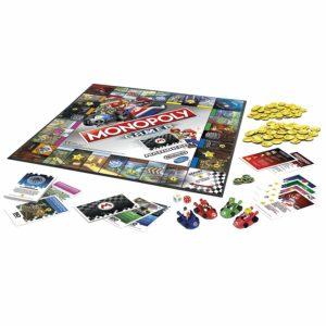 Le plateau du Monopoly Mariokart
