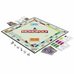 Le plateau du jeu Monopoly classique