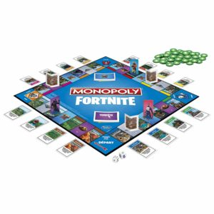 Plateau du Monopoly Fortnite-Jeu