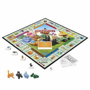 Plateau de jeu du Monopoly junior