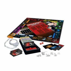 Le plateau du jeu Monopoly tricheurs