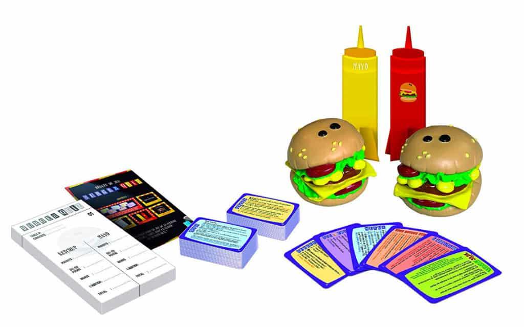 Les accessoires de burger quiz