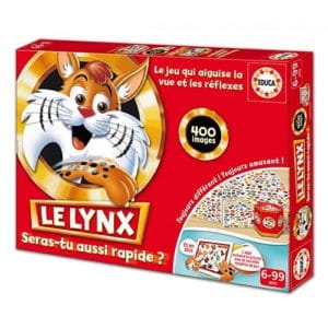 Boite du jeu le lynx 400 images