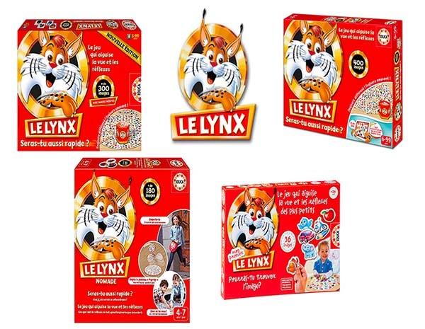 Comparatif des jeux le lynx