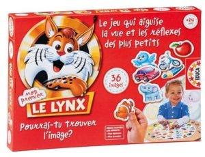 Boite du jeu mon premier le lynx