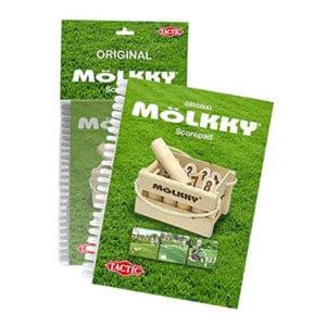 Le carnet de score du jeu le molkky