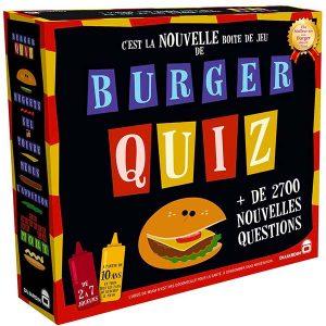 Boite de burger quiz