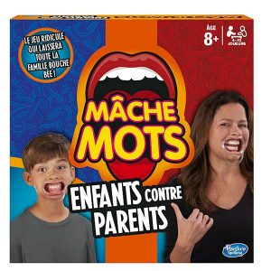 Boite de mache mots parents contre enfants
