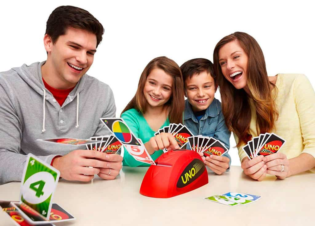 Exemple du jeu Uno