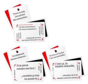 les cartes du jeu Taggle