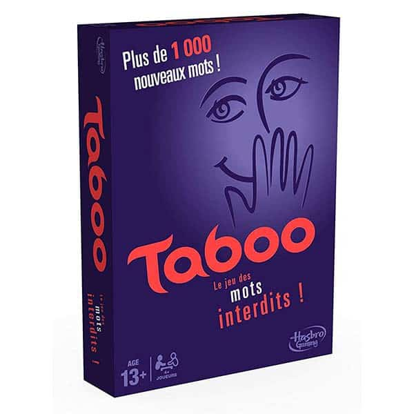 La boite du jeu Taboo