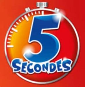 Le logo du jeu 5 secondes