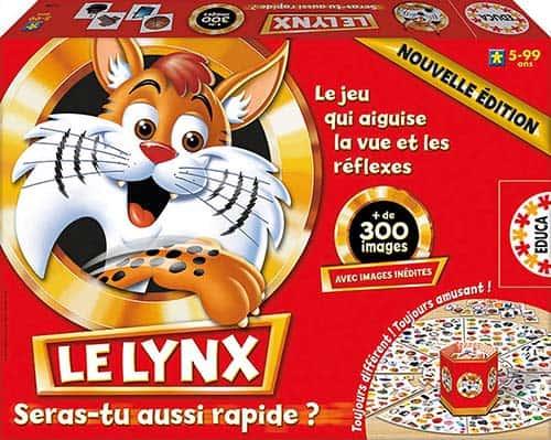 Boite du jeu le lynx