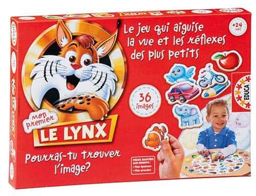La boite de mon premier lynx
