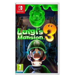 Jaquette de Luigi's Mansion 3
