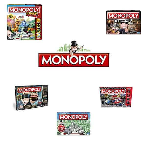 Logo du top 5 des monopoly