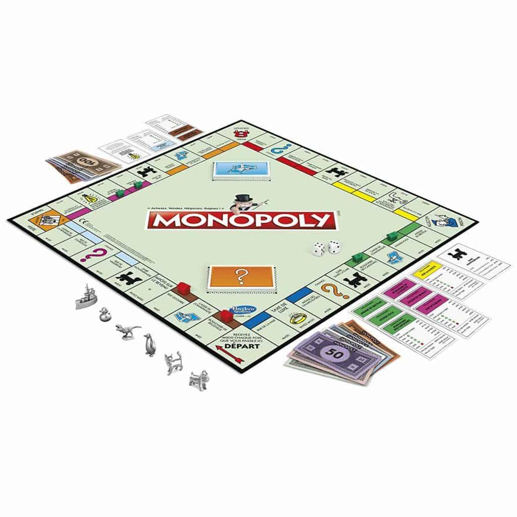 Les accessoires du monopoly classique