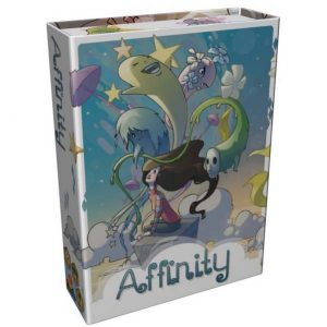 La boite du jeu Affinity