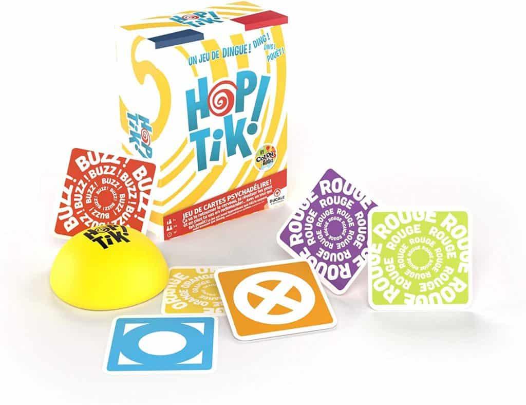 Les accessoires du jeu Hop Tik