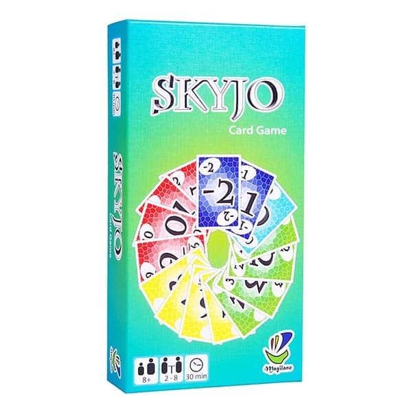 La boite de jeu de Skyjo