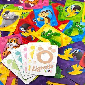 Les cartes du Ligretto kids