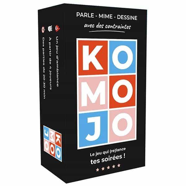 La boite de jeu de Komojo